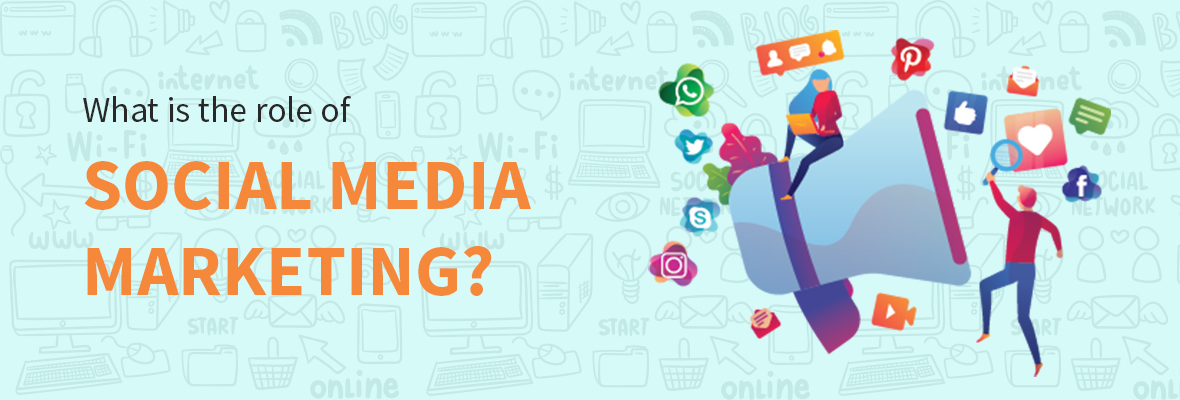 What is the role of social media in marketing?